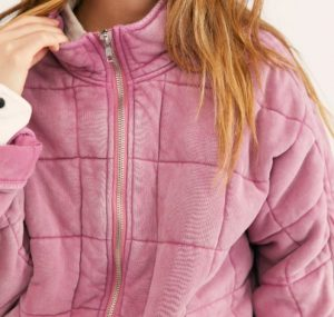 Buy Free People dolman quilted jacket