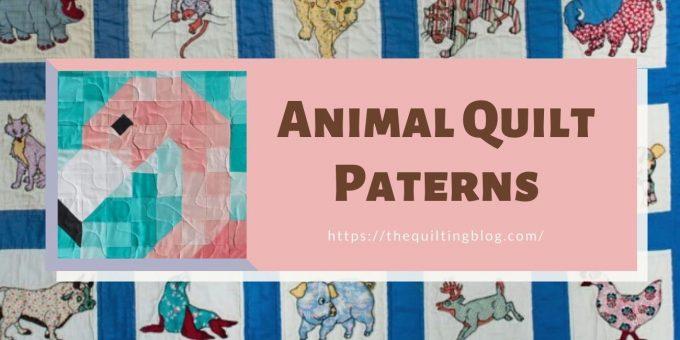 Buy Top10 Animal quilt Patterns