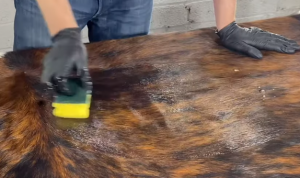 How to Cowhide Rug maintenance cleaning